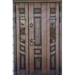 Дверь Троя двухстворчатая (Корабельная фанера)