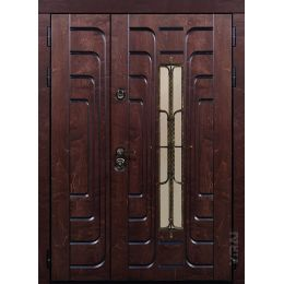Дверь двустворчатая Викинг 2