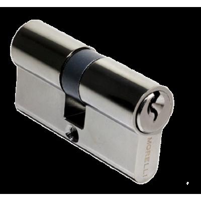 Ключевой цилиндр MORELLI ключ/ключ (60 мм) Черный никель