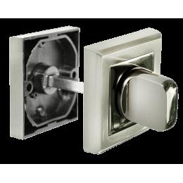 Завертка сантехническая MORELL Белый никель / черный никель