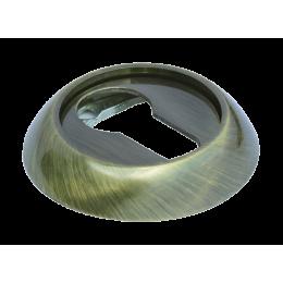 Накладка на ключевой цилиндр MORELLI Античная бронза