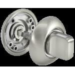 Завертка сантехническая MORELLI Белый никель / хром