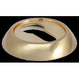 Накладка на ключевой цилиндр MORELLI Матовое золото / Золото