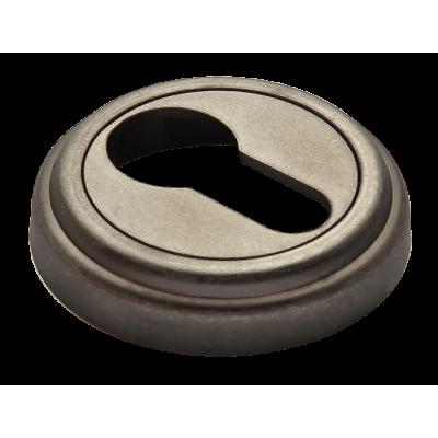 Накладка на ключевой цилиндр MORELLI Старое античное серебро