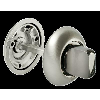 Завертка сантехническая MORELLI Белый никель / черный никель