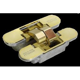 Дверные скрытые петли MORELLI с 3D регулировкой Золото
