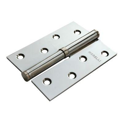 Дверная петля MORELLI стальная разъёмная правая Хром