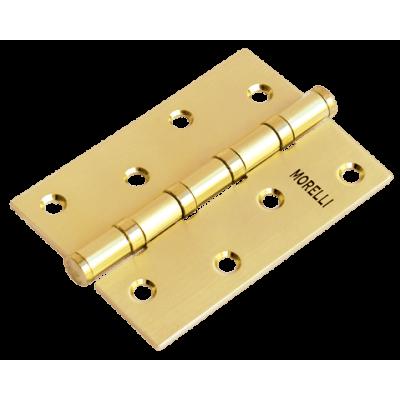Дверная петля MORELLI стальная универсальная Матовое золото