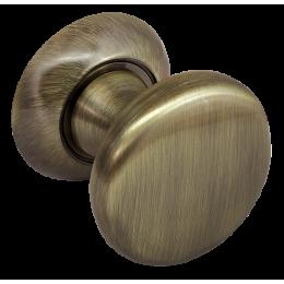 Поворотная круглая ручка Morelli Античная бронза