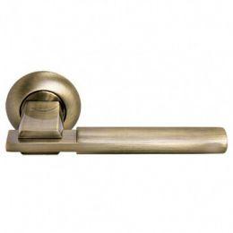 Дверная ручка Morelli «Упоение» MH-13 MAB/AB (Матовая античная бронза / Античная бронза)