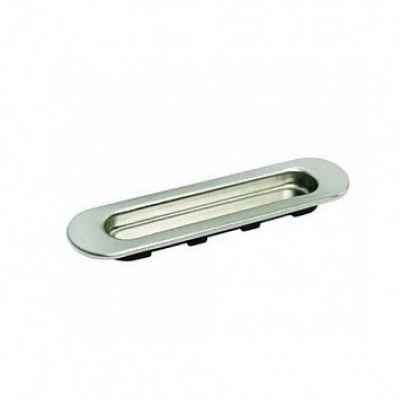 MHS150 SN, ручка для раздвижных дверей, цвет - бел. никель