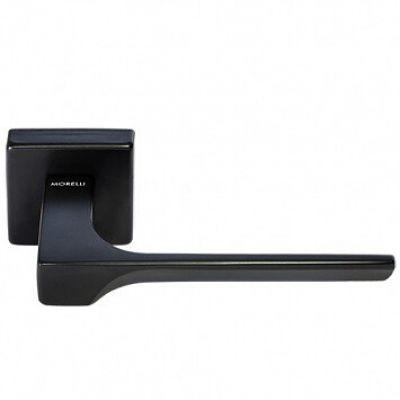 Дверная ручка Morelli Luxury FIORD-SQ NERO (Черный)