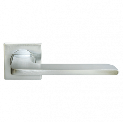 Дверная ручка Morelli Luxury NC-8-S CSA ROCK (Матовый хром)