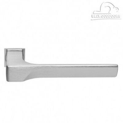 FIORD-SM CSA, ручка дверная, с невидимой квадратной розеткой, цвет - мат. хром