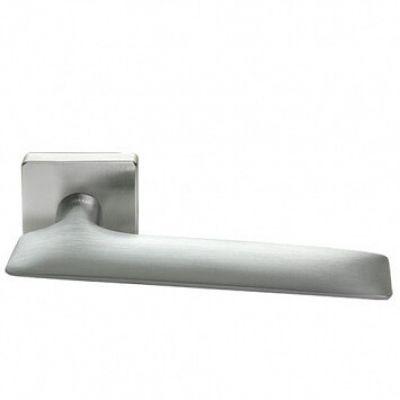 Дверная ручка Morelli Luxury GALACTIC-SQ CSA (Матовый хром)