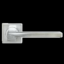 Дверная ручка Morelli Luxury NC-2-S CSA STONE (Матовый хром)