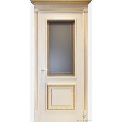 Дверь Деко 1 (остекленная)