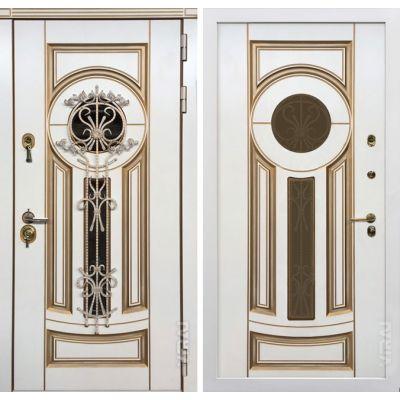Дверь Афина Корабельная фанера Терморазрыв