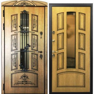 Дверь  Амазон Корабельная фанера (Терморазрыв )