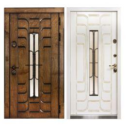 Дверь Викинг Корабельная фанера (с терморазрывом)